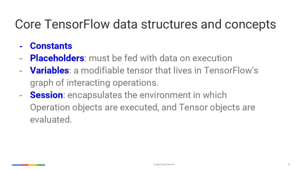 Google Cloud Platform 26 Core TensorFlow data s...