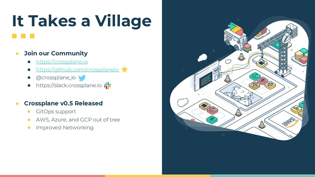 It Takes a Village ● Join our Community ● https...