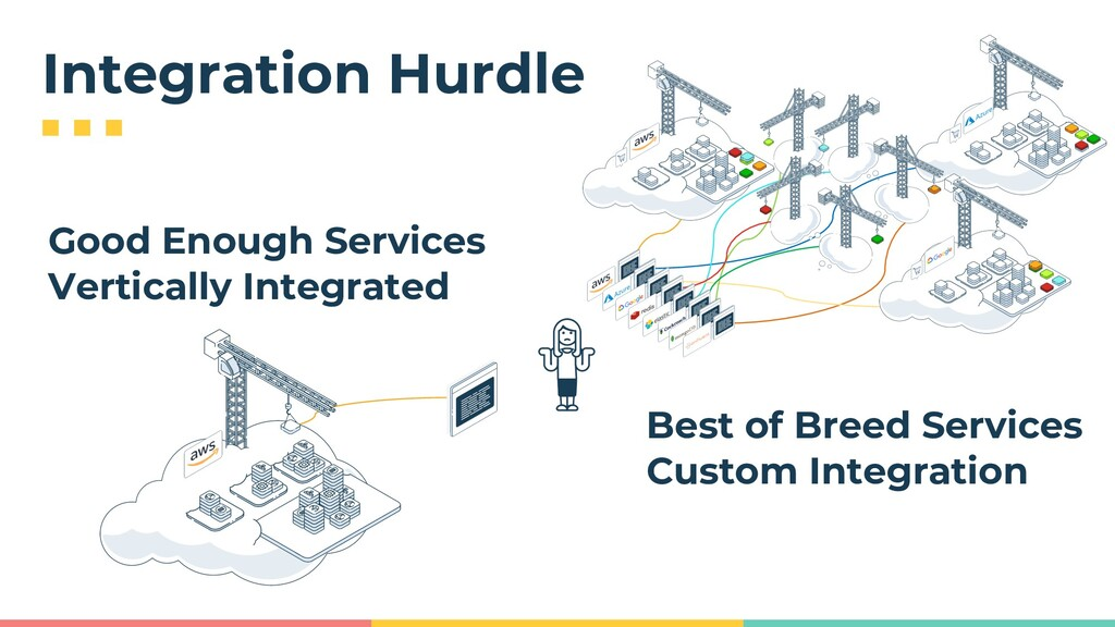 Integration Hurdle Good Enough Services Vertica...
