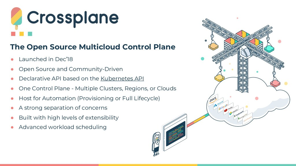 The Open Source Multicloud Control Plane ● Laun...