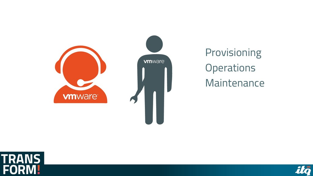 Provisioning Operations Maintenance