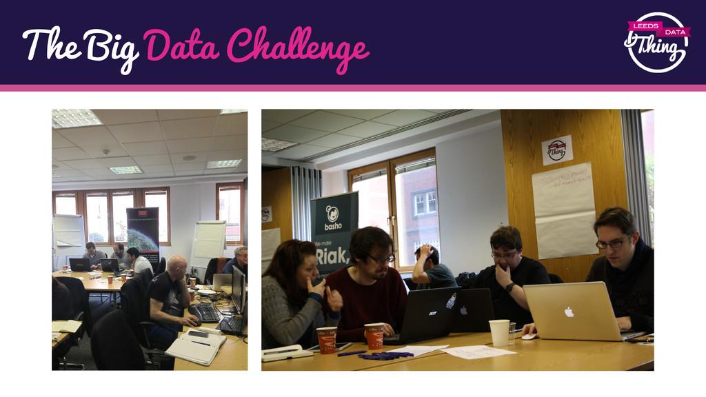 The Big Data Challenge
