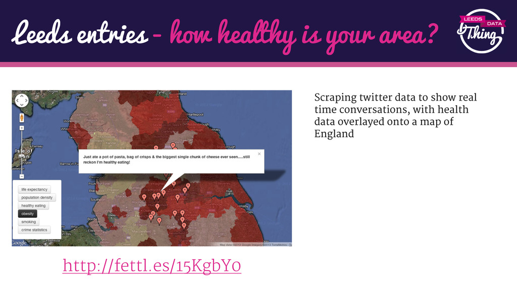 Leeds entries - how healthy is your area? http:...