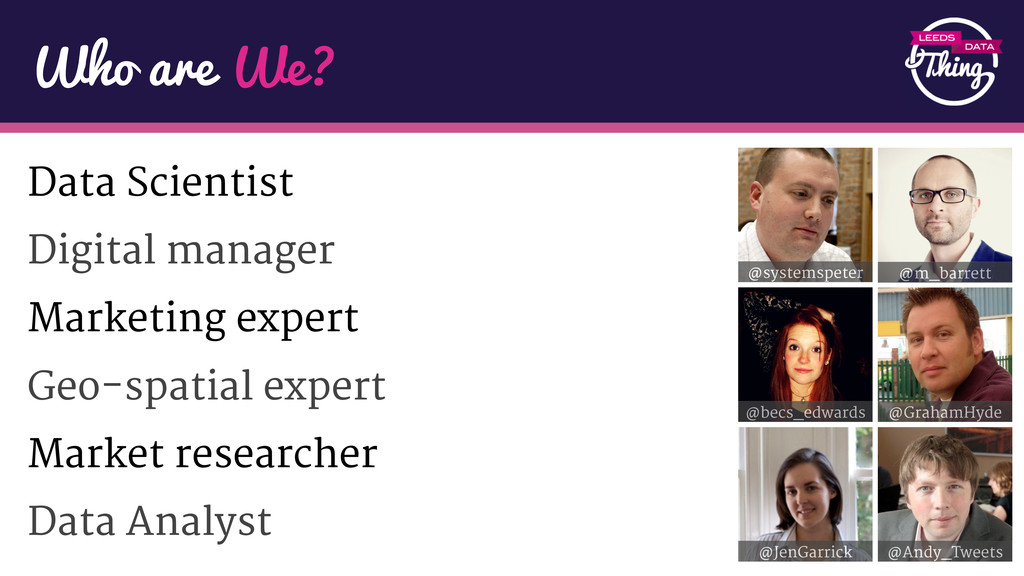 Data Scientist Digital manager Marketing expert...