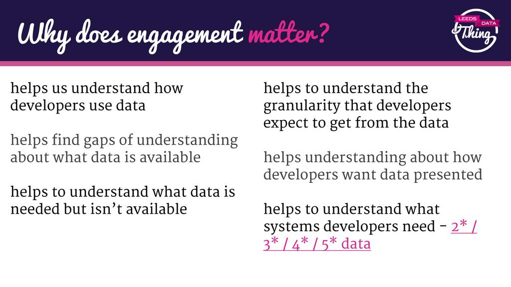 helps us understand how developers use data hel...