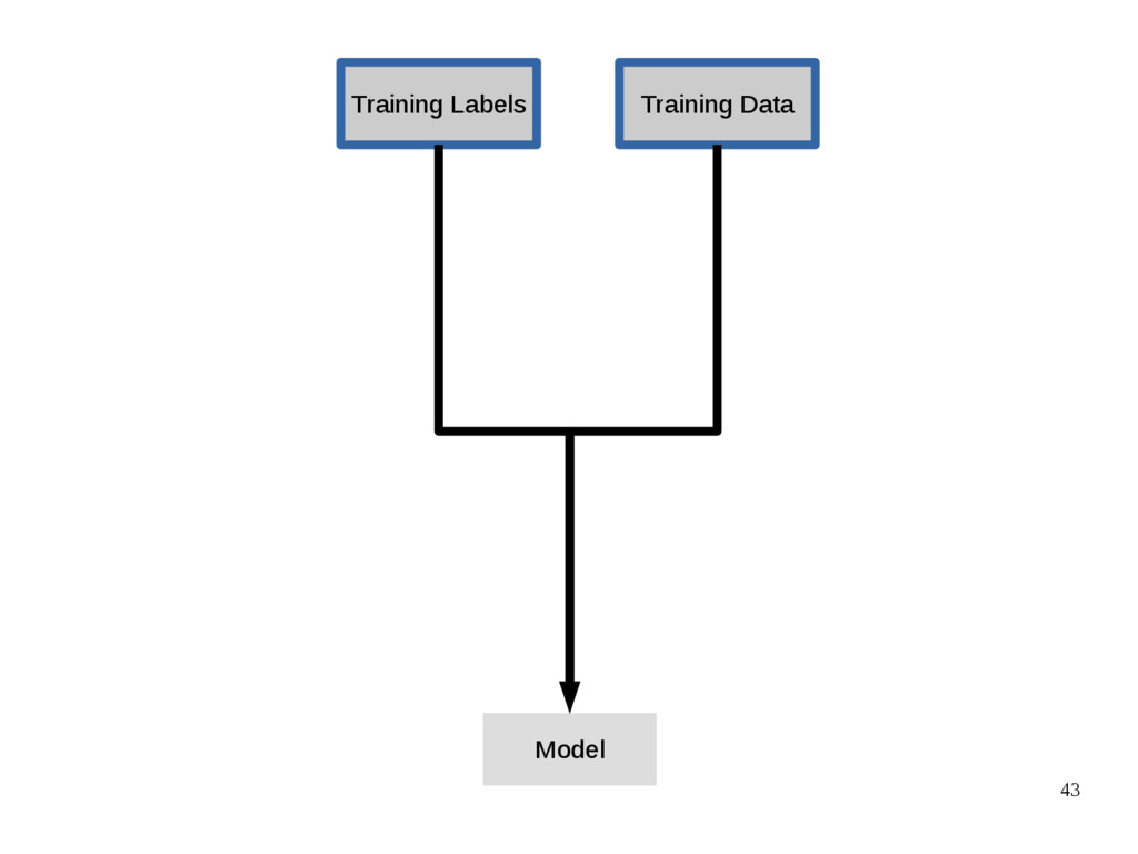 43 Training Data Training Labels Model