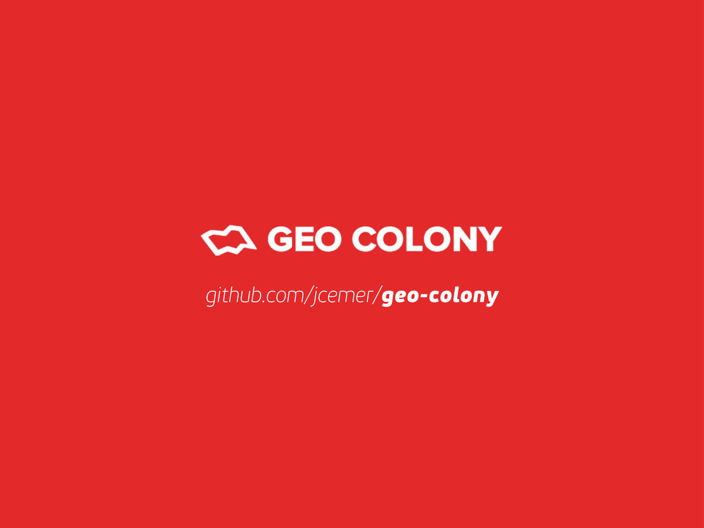 github.com/jcemer/geo-colony