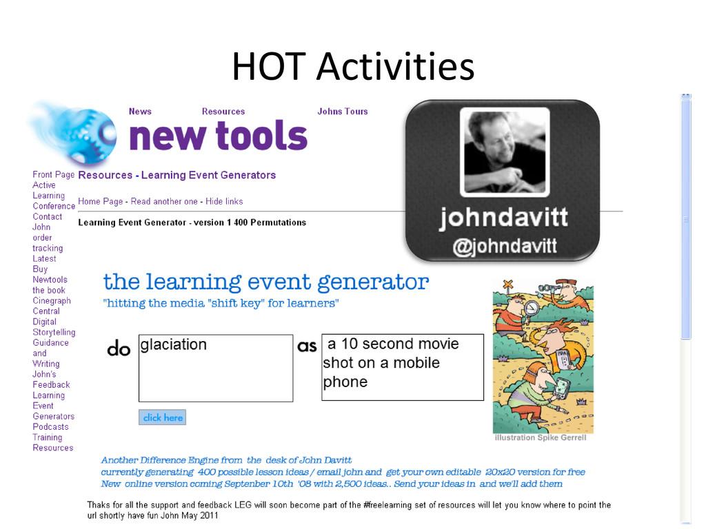 HOT Activities