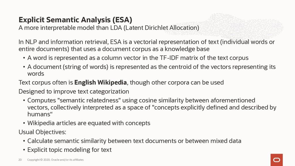 A more interpretable model than LDA (Latent Dir...