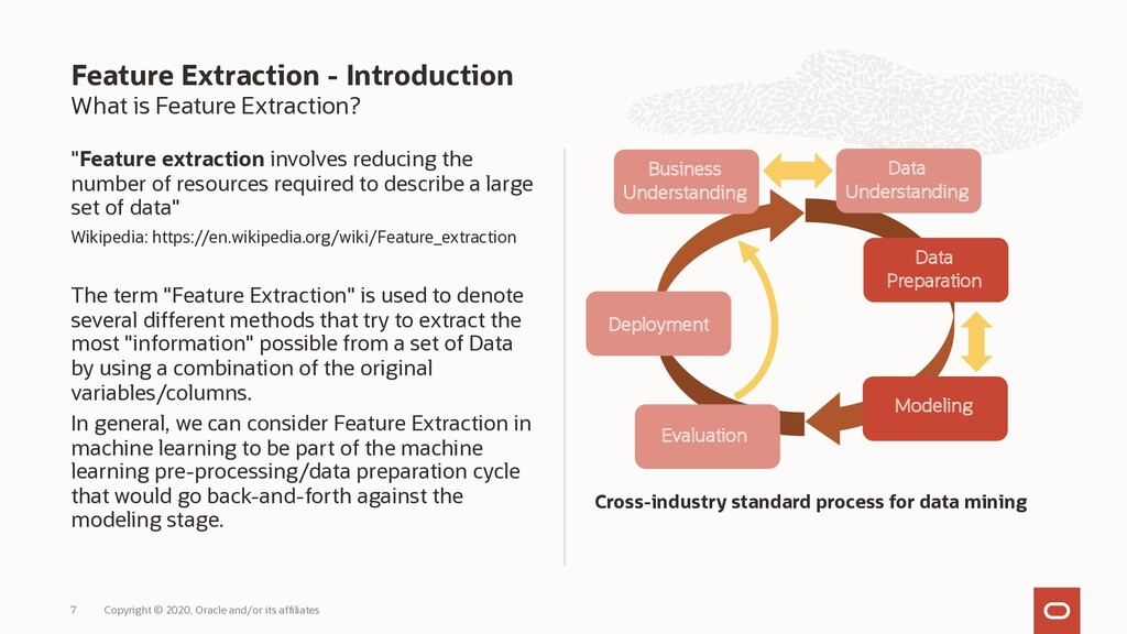 "What is Feature Extraction? ""Feature extraction..."