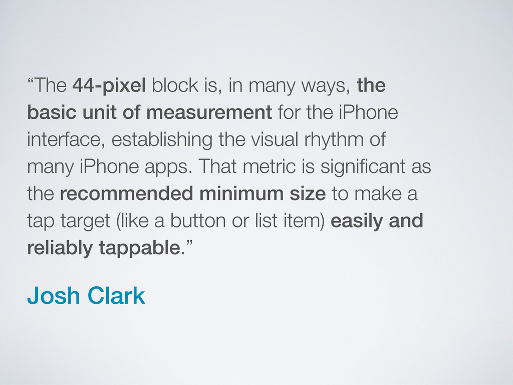"""The 44-pixel block is, in many ways, the basic..."