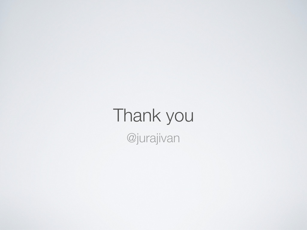 Thank you @jurajivan