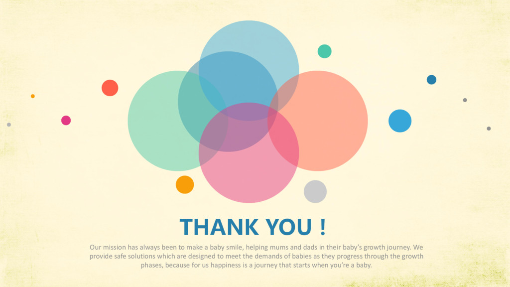 THANK YOU! Our mission has always been to make ...