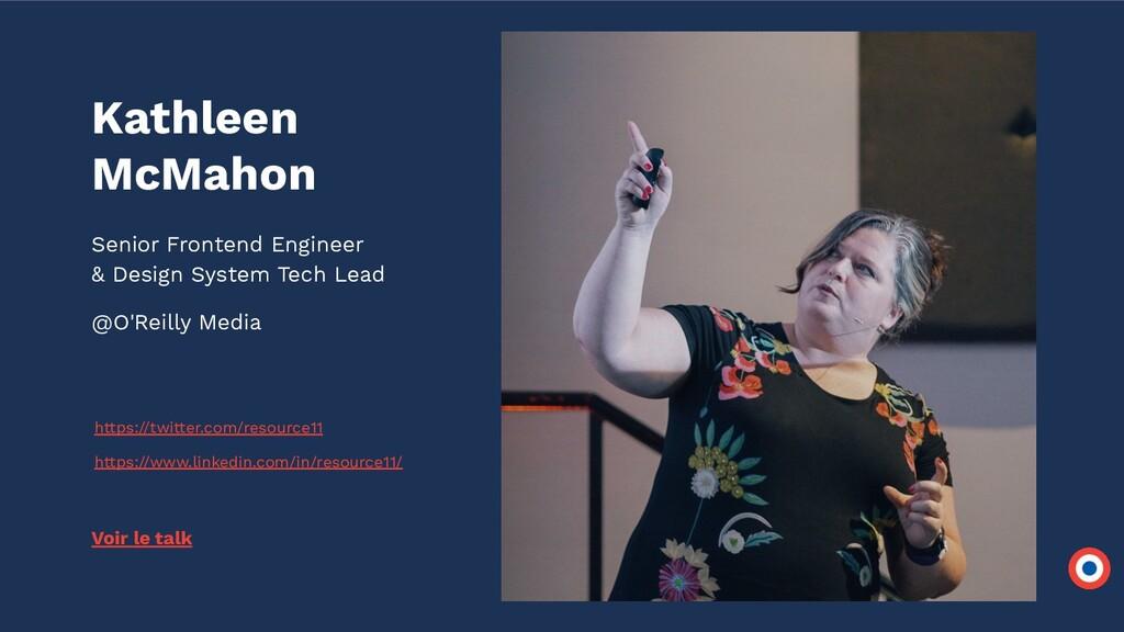 Kathleen McMahon Senior Frontend Engineer & Des...