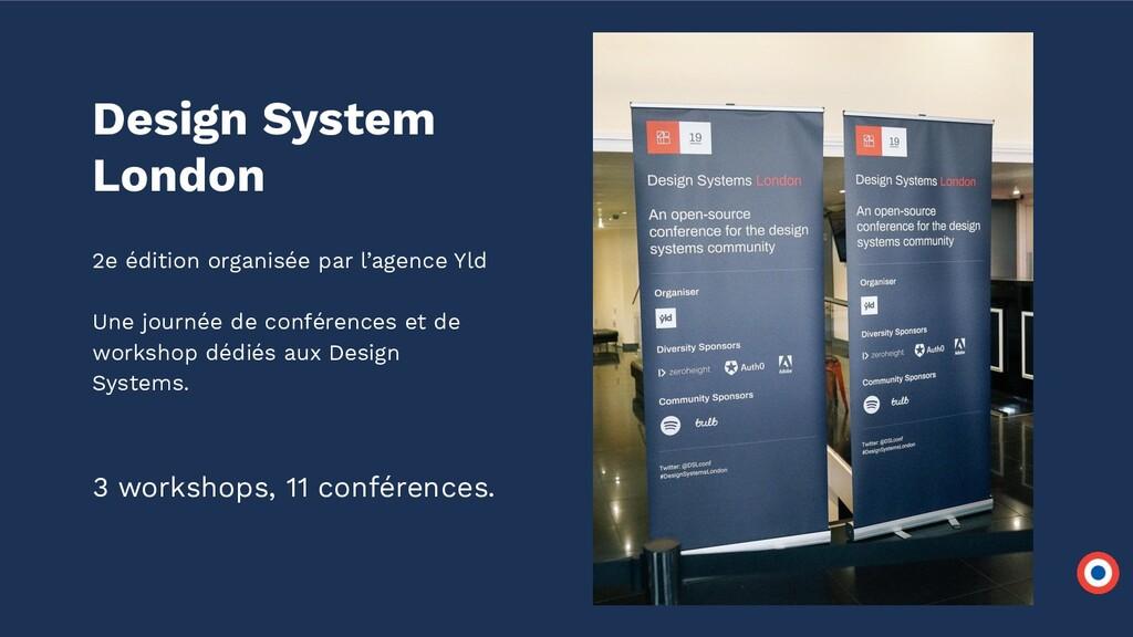 Design System London 2e édition organisée par l...