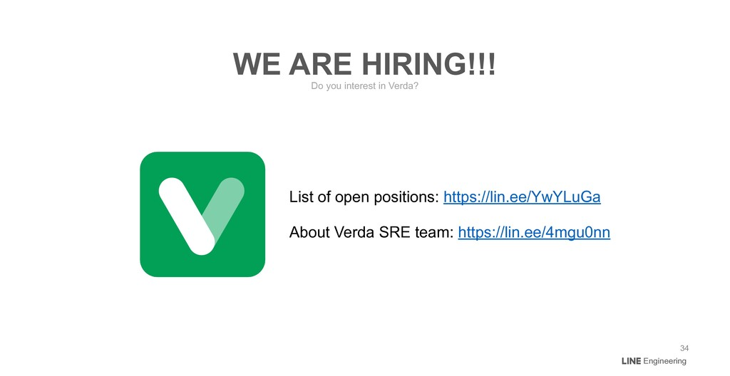 Engineering Do you interest in Verda? WE ARE HI...