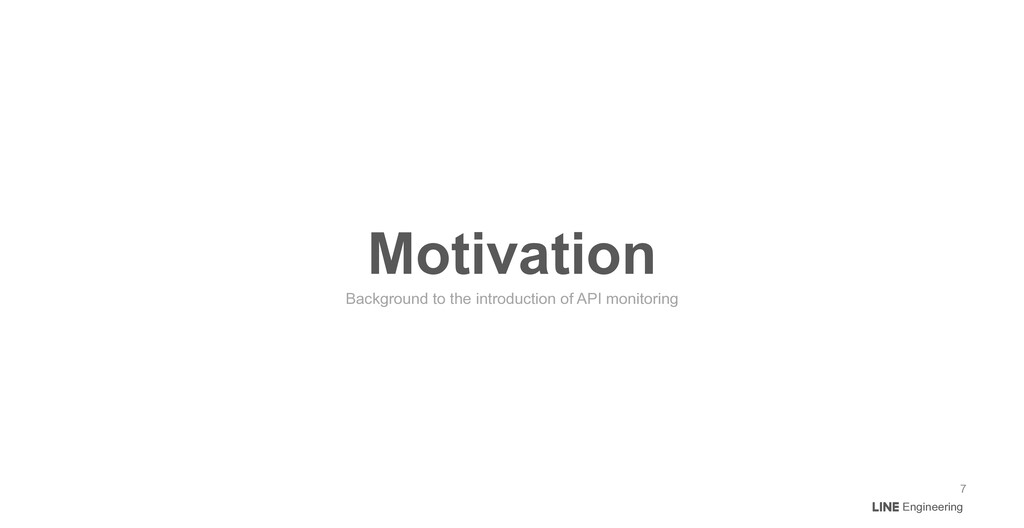 Engineering Motivation Background to the introd...