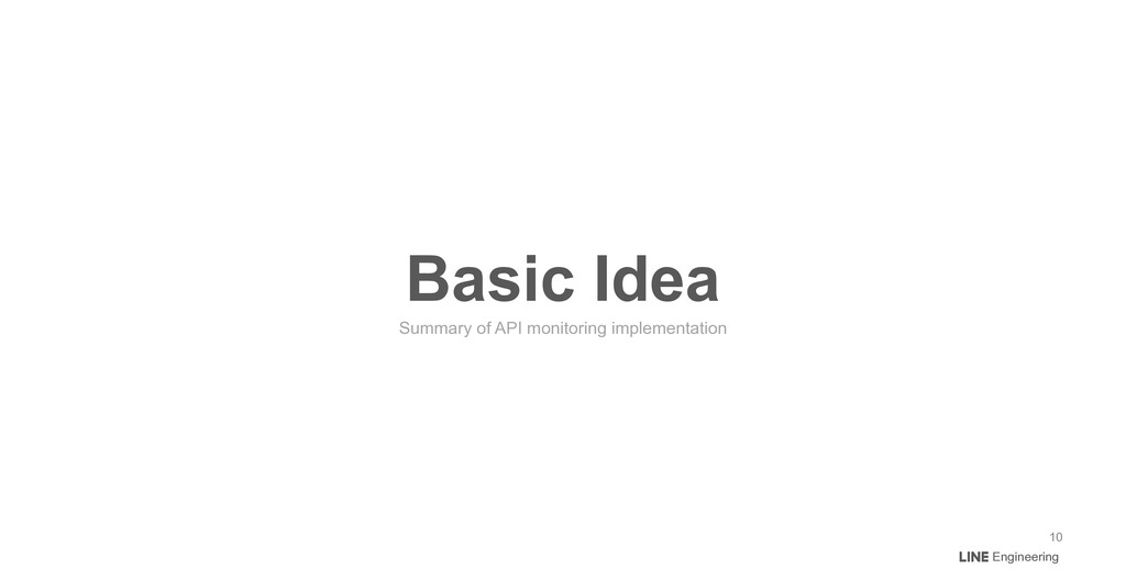 Engineering Basic Idea Summary of API monitorin...