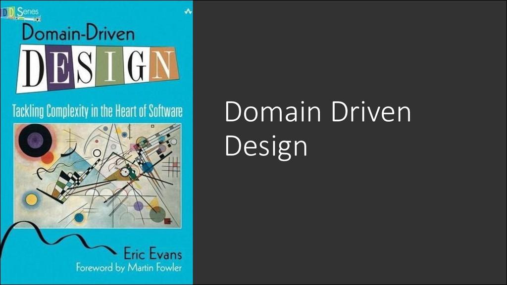 @ManfredSteyer Domain Driven Design
