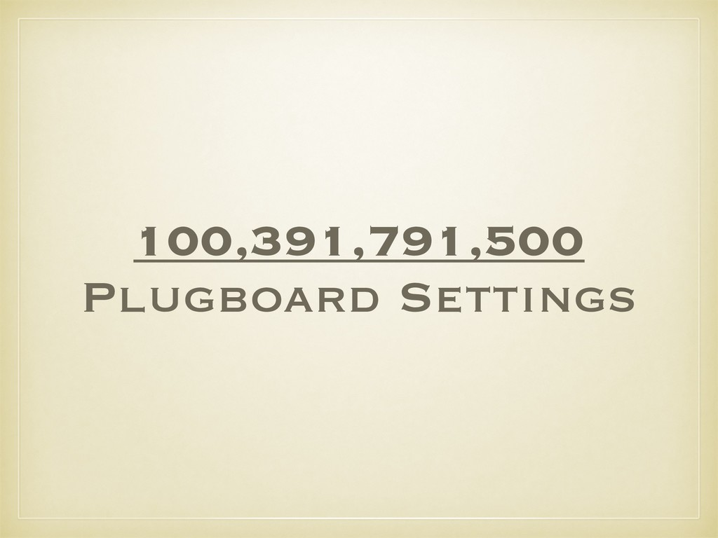 100,391,791,500 Plugboard Settings