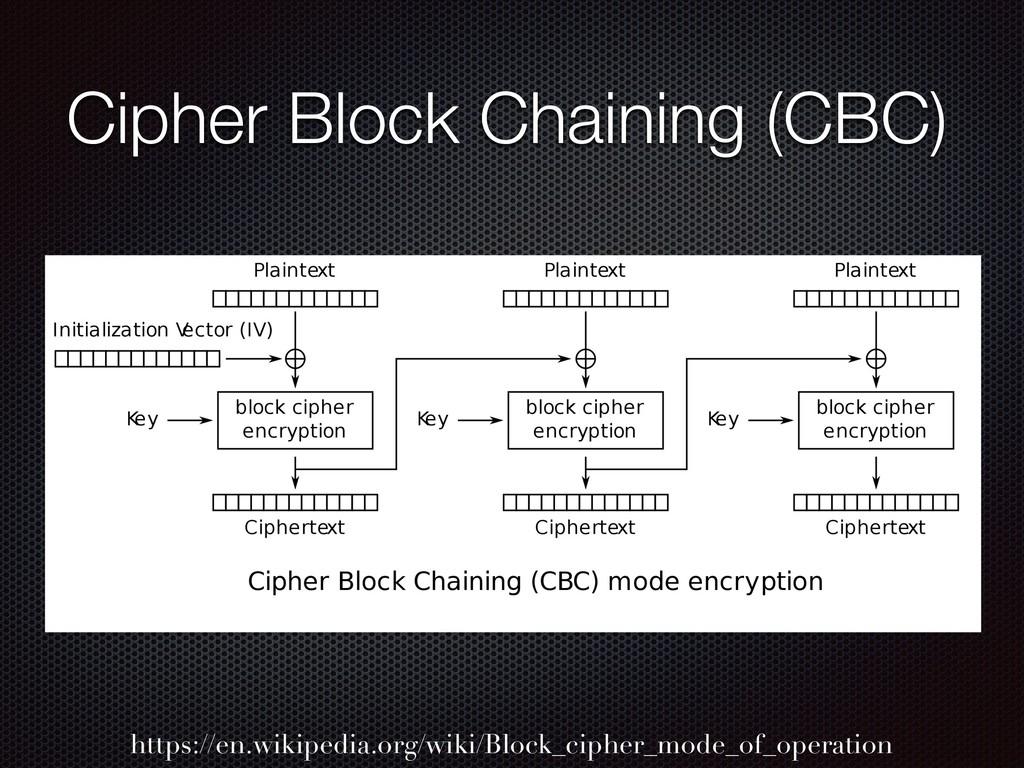 Cipher Block Chaining (CBC) https://en.wikipedi...