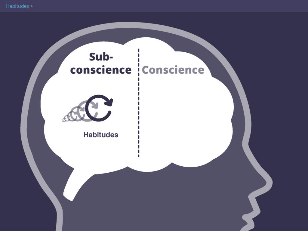 Habitudes > Sub- conscience Conscience Habitud...