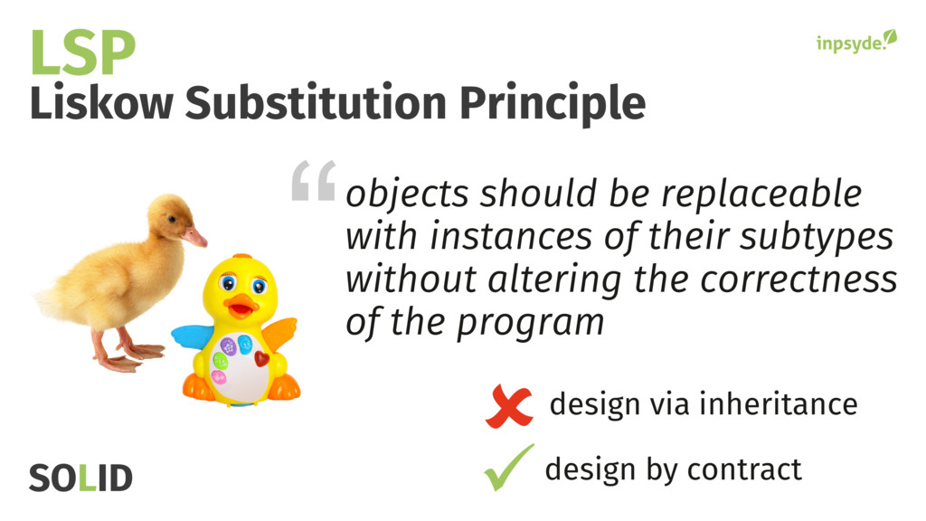 objects should be replaceable with instances of...