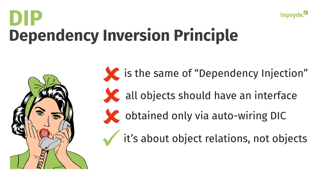 Dependency Inversion Principle DIP it's about o...