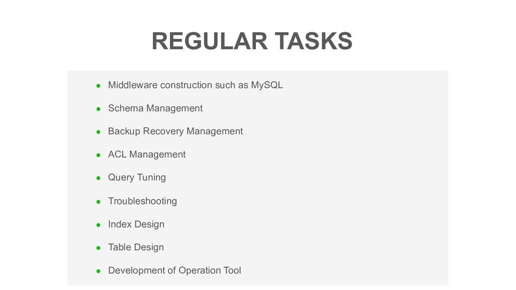 l Middleware construction such as MySQL l Schem...