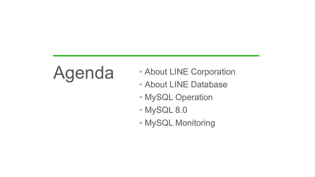• About LINE Corporation • About LINE Database ...