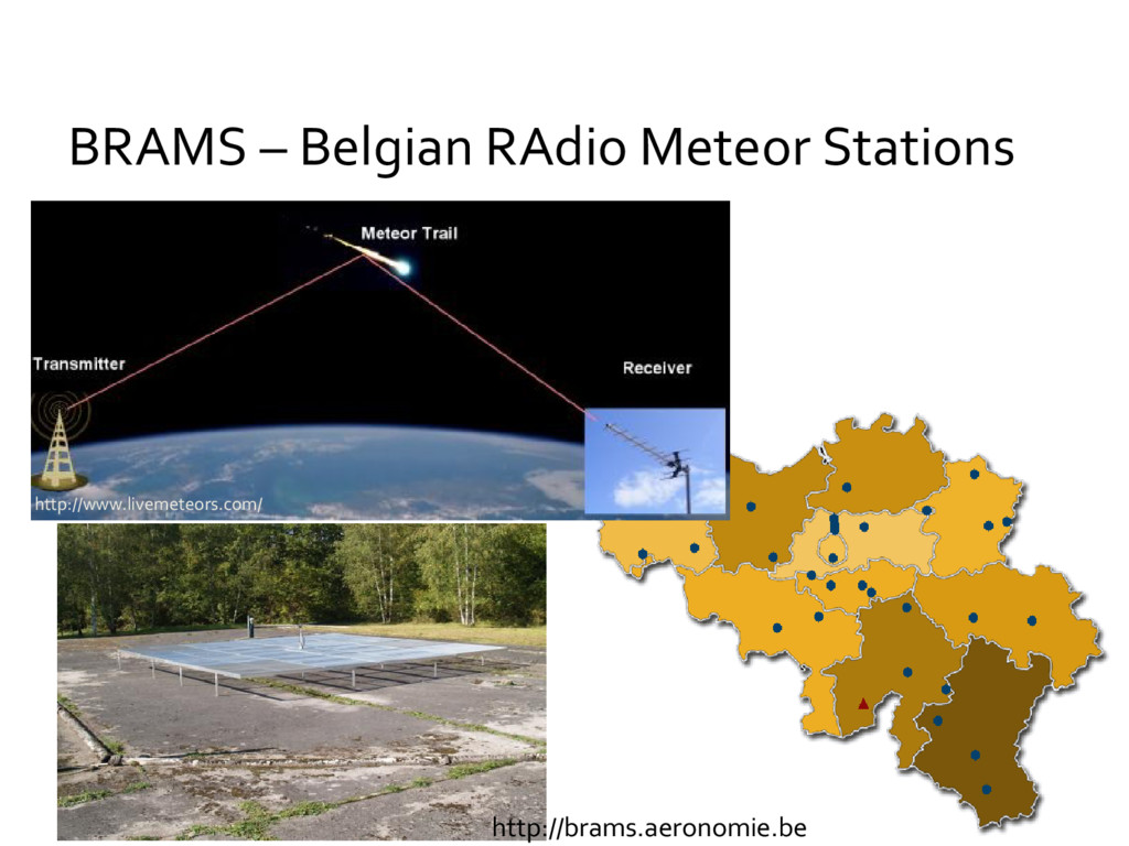 BRAMS – Belgian RAdio Meteor Stations http://ww...