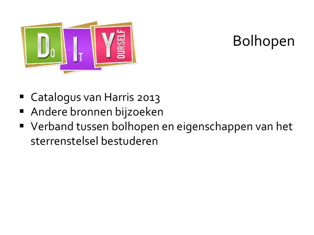  Catalogus van Harris 2013  Andere bronnen bi...