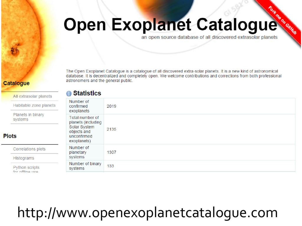 http://www.openexoplanetcatalogue.com