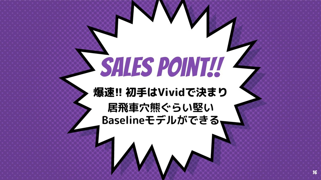 SaleS Point!! 爆速!! 初手はVividで決まり 居飛車穴熊ぐらい堅い Base...