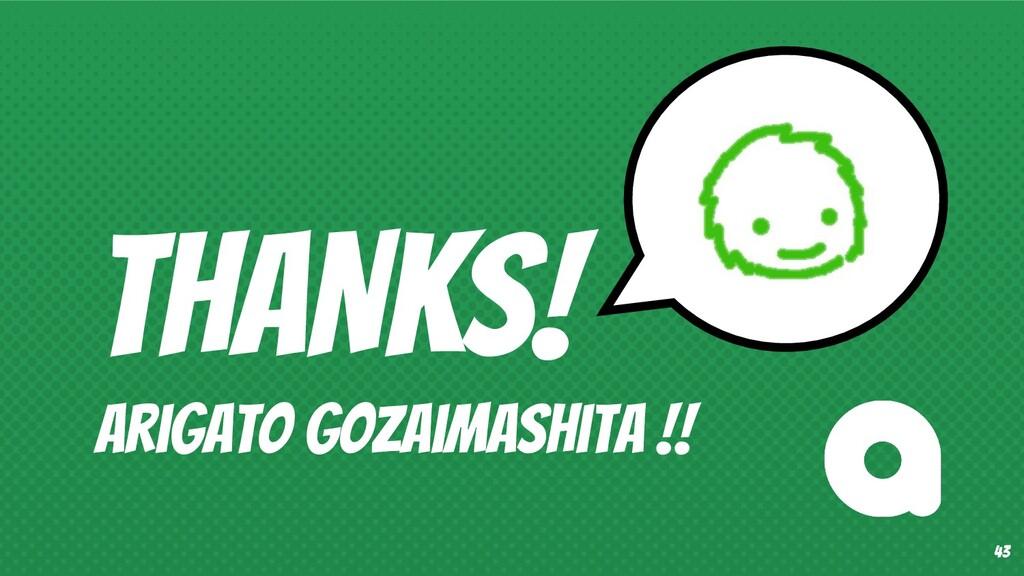 THANKS! Arigato Gozaimashita !! 43