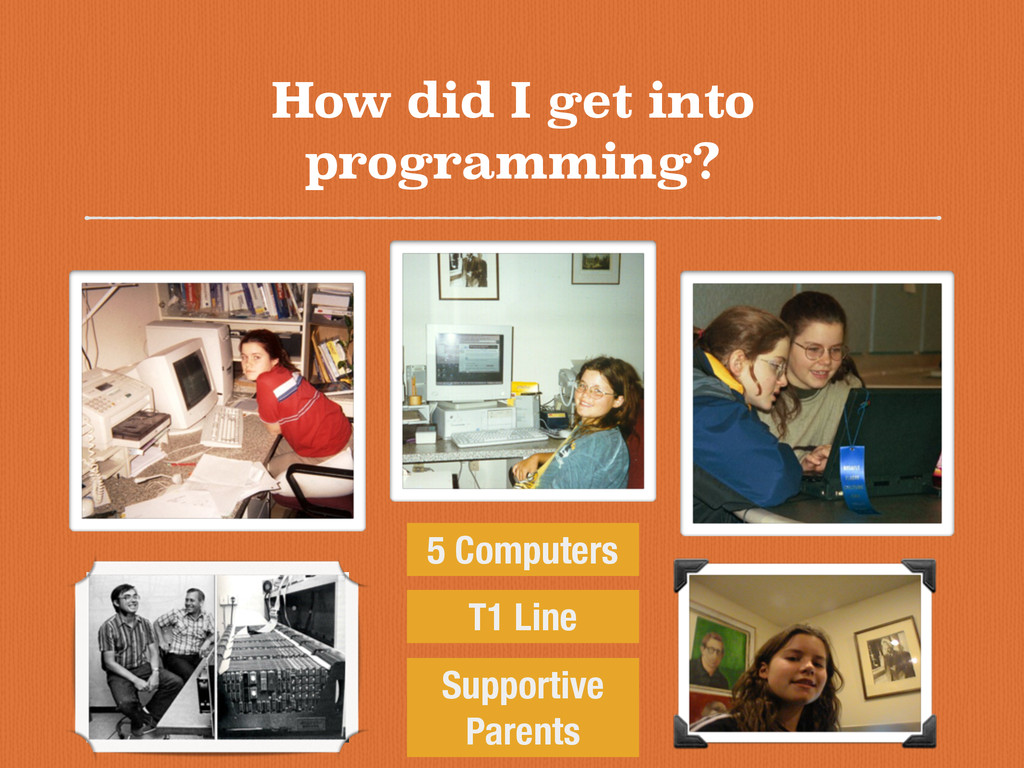 How did I get into programming? 5 Computers T1 ...