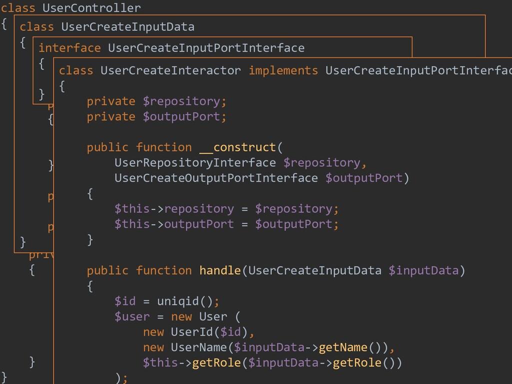 199 class UserController { private $inputPort; ...