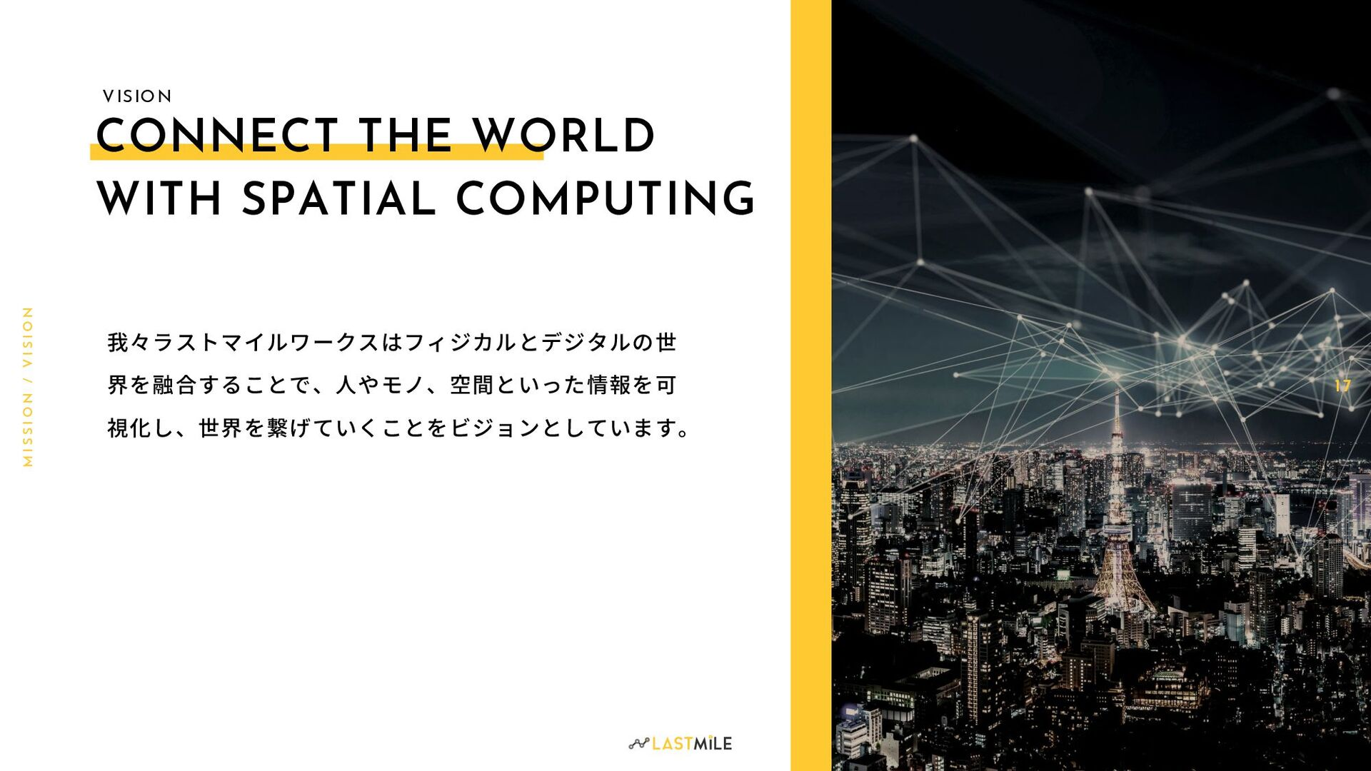 CONNECT THE WORLD WITH SPATIAL COMPUTING 1 7 M ...