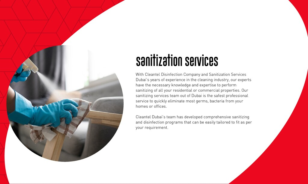 Sanitization Services With Cleantel Disinfectio...