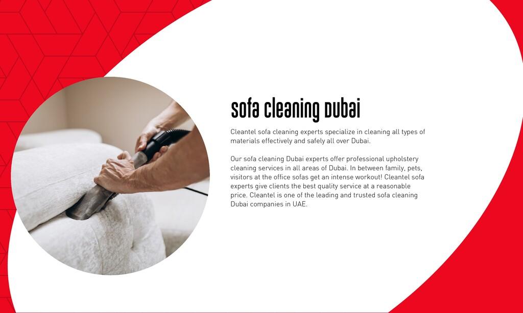 Sofa Cleaning Dubai Cleantel sofa cleaning expe...
