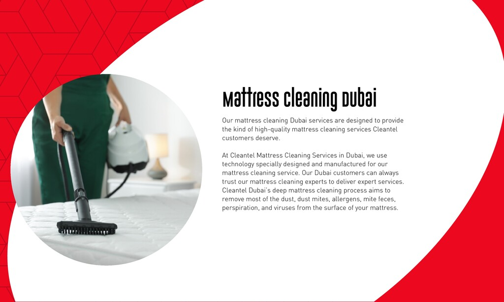 Mattress Cleaning Dubai Our mattress cleaning D...