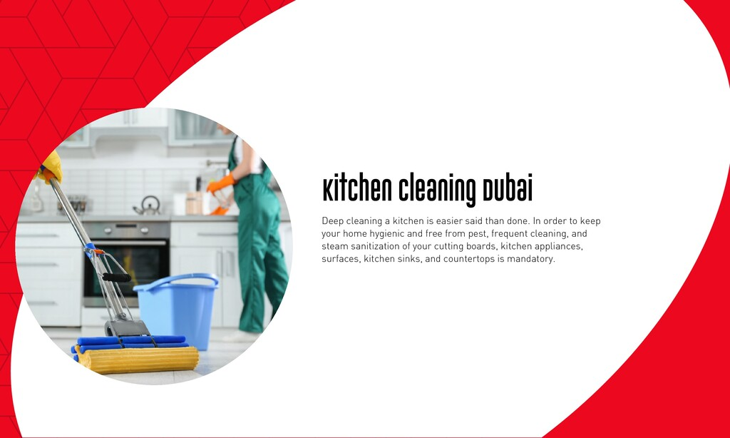 Kitchen Cleaning Dubai Deep cleaning a kitchen ...
