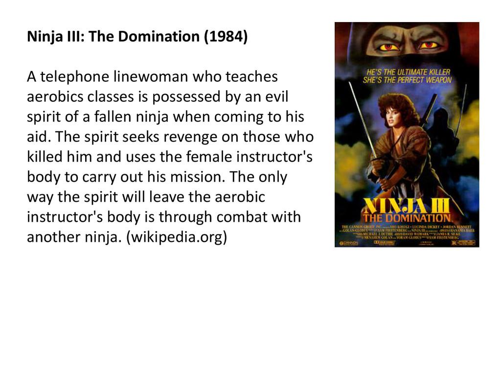 © Microsoft Corporation Ninja III: The Dominati...