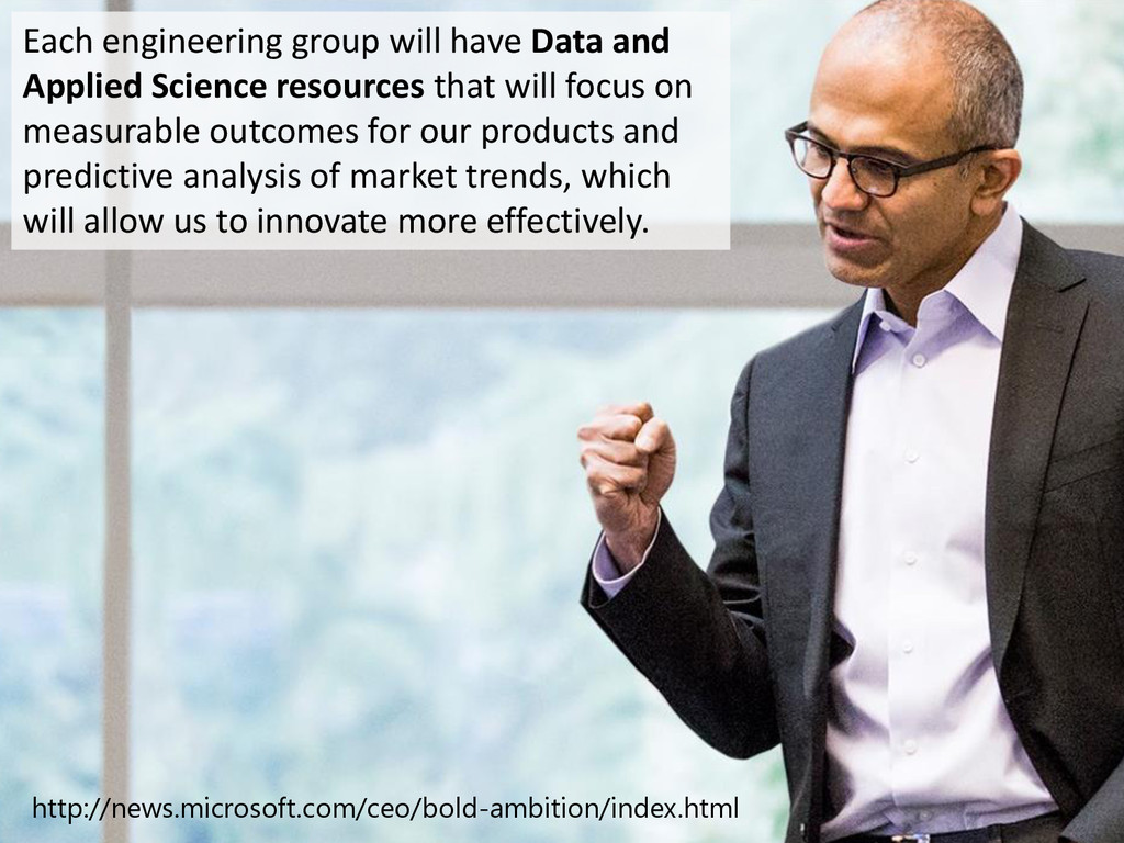 © Microsoft Corporation Each engineering group ...