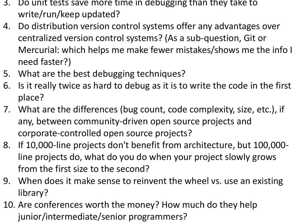 © Microsoft Corporation 3. Do unit tests save m...