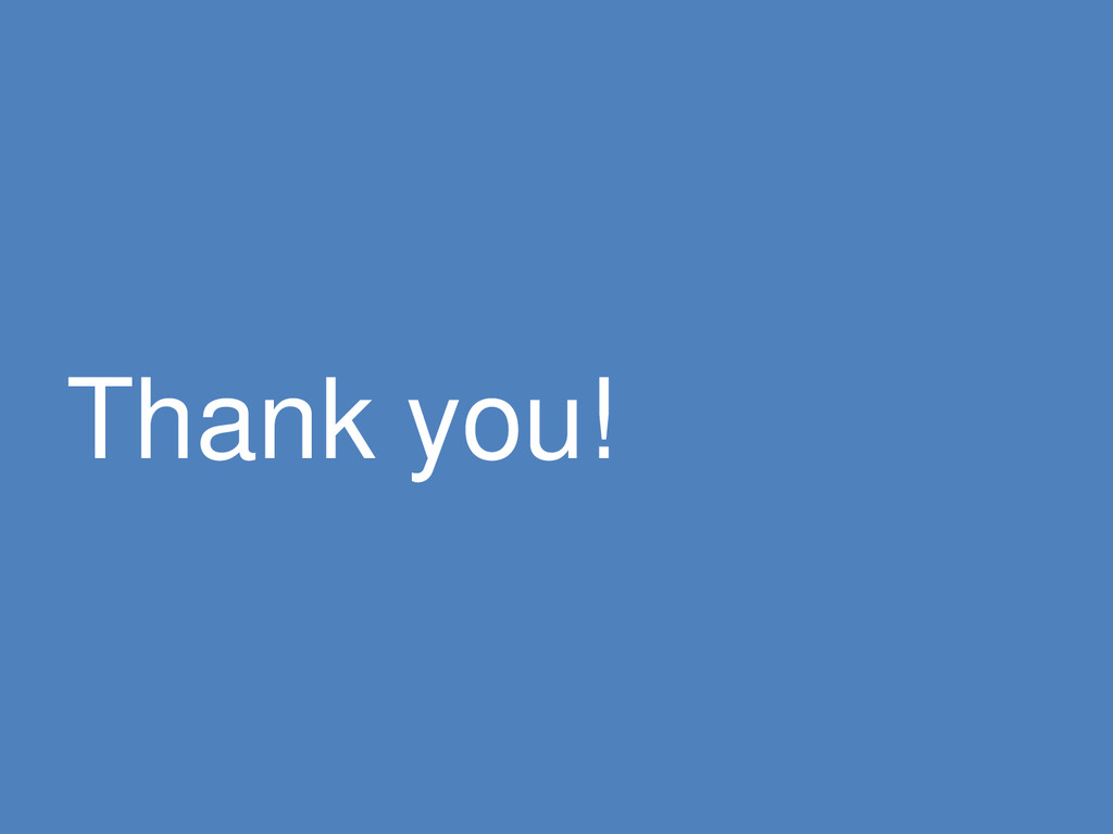 © Microsoft Corporation Thank you!