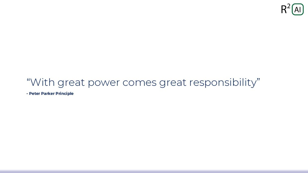 """""""With great power comes great responsibility"""" -..."""