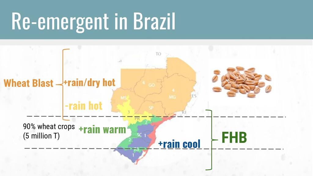 FHB +rain cool +rain warm -rain hot +rain/dry h...