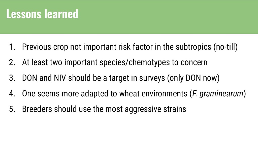 1. Previous crop not important risk factor in t...