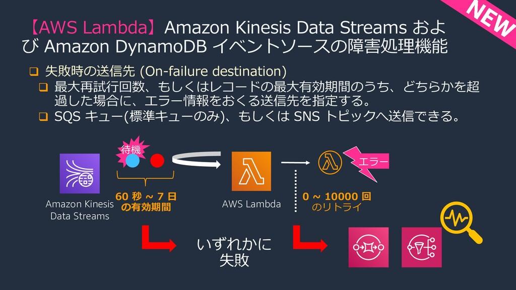 【AWS Lambda】Amazon Kinesis Data Streams およ び Am...
